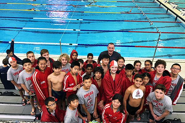 Dolphins Swim Team Finalists at the Etobicoke Hall of Fame Swim Meet